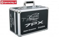P-EBB1172 Zender koffer Futaba 7PX, Aluminium, 1 st.