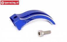 EBT6639B Aluminium Gas-Rem hevel blauw Futaba 4PX-7PX, Set