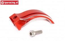EBT6639R Aluminium Gas-Rem hevel rood Futaba 4PX-7PX, Set
