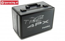 FUTC4PX Aluminium Zender koffer zwart Futaba 4PX, 1 st.
