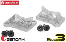 ZN32002F3 Zenoah 32cc Falcon3 spoelpoort cover, Set