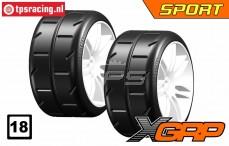 GWH02-XS1 GRP Sport 1/5 Extra Soft Ø120 mm, 2 st.