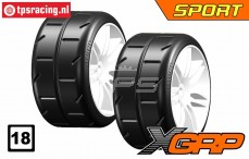 GWH02-XS3 GRP Sport 1/5 Soft Ø120 mm, 2 st.