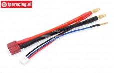 TPS0522 Siliconen accu kabel Gold, (L10 cm), 1 st.