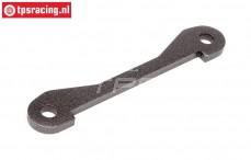 HPI102168 Draagarm pen strip achter onder B, Gun Metal, 1 st.