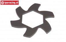 HPI102171 Remschijf koeler Gun Metal, 1 st.