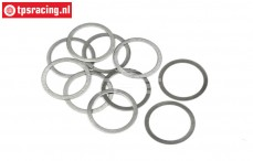 HPI132169 Pas ring Ø12-Ø16-H0,1 mm, 10 st.