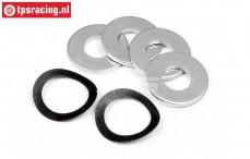 HPI15442 Koppeling Ringen, Set.
