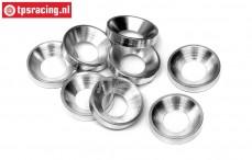 HPI50504 Motor bevestiging ringen, 8 st.