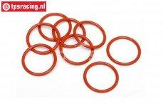 HPI75071 O-ring Schokdemper sluiting onder, 8 st.