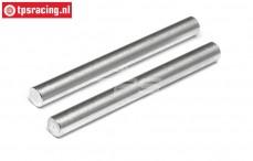 HPI86629 Aluminium Servo saver as, 2 st.