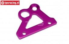 HPI87428 Rem houder plaat Paars, 1 st.