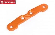 HPI87479 Draagarm pen strip achter onder A HPI, Oranje, 1 st.