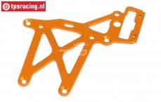 HPI87483 Plaat achter boven Oranje, 1 st.