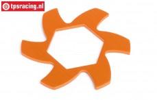 HPI87486 Remschijf koeler Oranje), 1 st.
