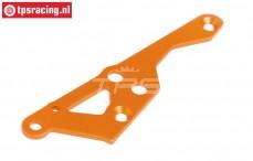 HPI87490 Motor plaat rechts Oranje, 1 st.