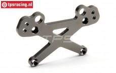 HPI87549 Aluminium Schokdemper steun voor HD Gun Metal, Set