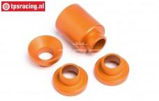 HPI87555 Afstand bus Koppeling houder Oranje, Set