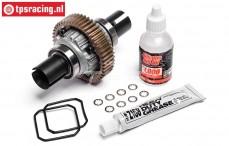 HPI87568 Aluminium Differentieel compleet, Set