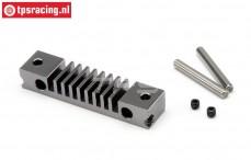 HPI87572 Remvoering houder HD Gun Metal, Set.