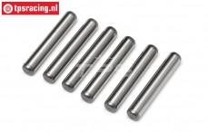 HPI96504 Aandrijf as pen, (Ø4-L24 mm), 6 st