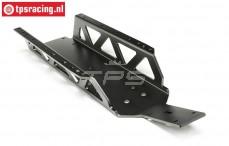 TPS7477/ZW Extra sterk Chassis HPI-Rovan, zwart, 1 st.