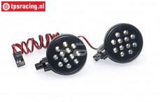 TPS5190/2W LED verlichting, Helder wit, 2 st.