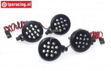 TPS5190/4W LED verlichting, Helder wit, 2 st.