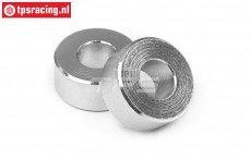HPI108722 Aluminium afstand ring 5B Flux, 2 st.