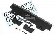 HPI85249 Achterspoiler 5T-1 Zwart, set