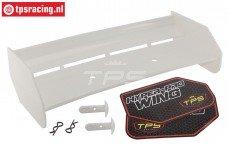 TPS85451/00 Nylon Achterspoiler Wit HPI-ROVAN, Set