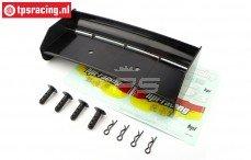 HPI85452 Achterspoiler Zwart, Set