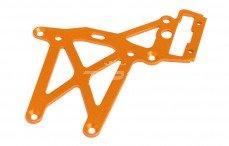 HPI87483 Plaat achter boven HPI, (Oranje), 1 st.