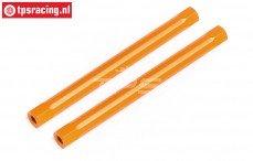 HPI87557 Spoiler houder pen Oranje, 2 st.
