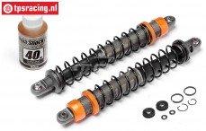 HPI87561 Schokdemper voor VVC/HD Oranje, 2 st.