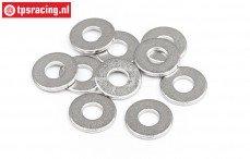 HPIZ685 Stalen ring Ø2,7-Ø7-H0,5 mm, 10 St.