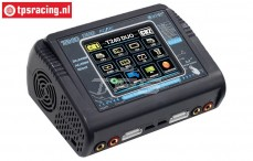 HTRC T240 DUO Touchscreen Lader 12-220 Volt, Set