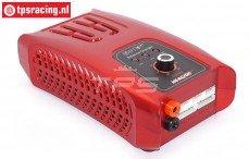 HTRC H6 Lader Rood AC/DC, (12-220 volt), Set