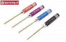 TPS1605/01 Inbus sleutels TPS 4-Colour, Set