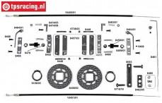 FG10452 Tuning Kabel schijfremmen voor, Formule 1, Set