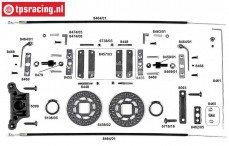 FG6250/06 Tuning Kabel schijfremmen voor 2WD, Set