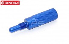 TPS0354/07 Aluminium Zuiger stopper Blauw, 1 st.
