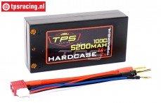 TPS5200HC LiPo accu Hardcase 5200 mAh 7,4 Volt-100C, 1 st.