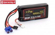 TPS5200SC 2S LiPo accu Race-Line 5200 mAh 100C, 1 st.