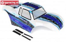 LOS250014 LOSI MTXL Kap wit/blauw, Set