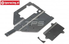 LOS251061 Chassis-Motor Cover SBR, Set
