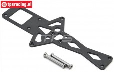 LOS251062 LOSI SB-Rey Midden chassis Strip, 1 st.