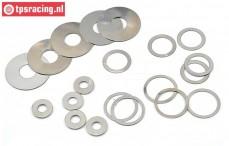 LOS256001 LOSI DBXL-MTXL Pas ring, Set