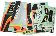 LOS259000 Stickers, (LOSI 5IVE RTR AVC), Set