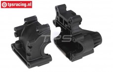 LOSB2542 LOSI 5IVE-T Differentieel behuizing achter, Set